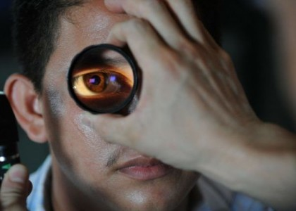 Beeinträchtigtes Sehvermögen bei CFS-Patienten