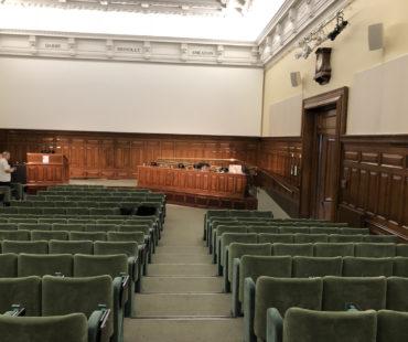 Im Hörsaal der IIMEC13 berichten international führende Wissenschaftler über ihre ME/CFS-Forschung
