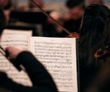 Violinist Sebastian Fetzer